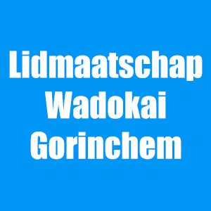 Lidmaatschap van Wadokai Gorinchem