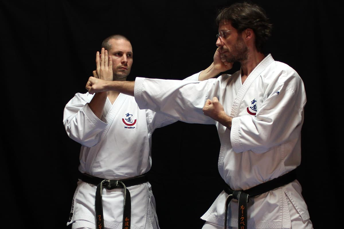 AJ van Dijk & Roeland Cuppers Kumite Gata 1